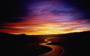 highway-and-sunset