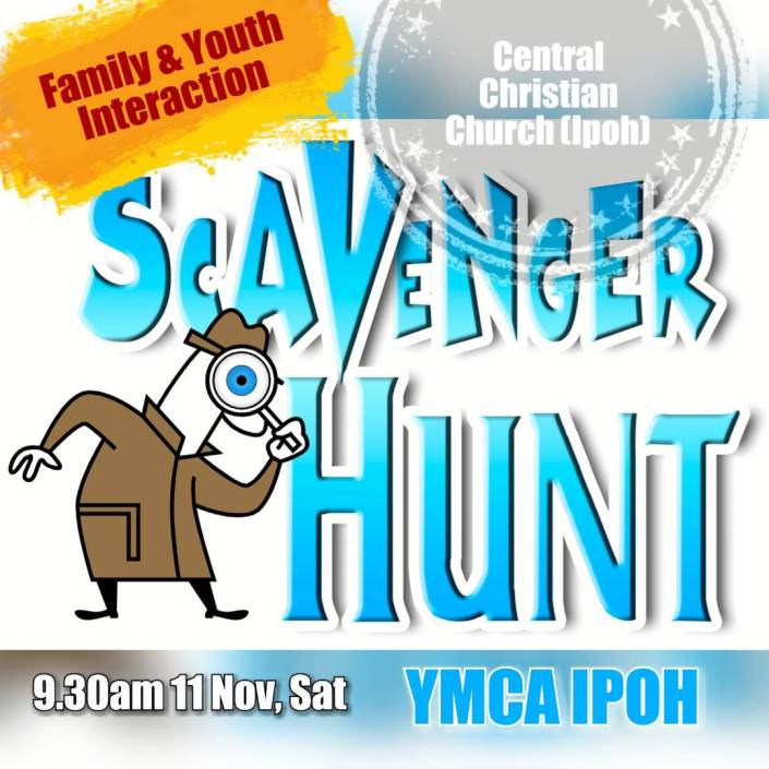 Scavenger Hunt Nov 2017